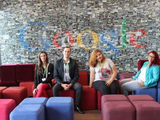 De volta a sede do Google
