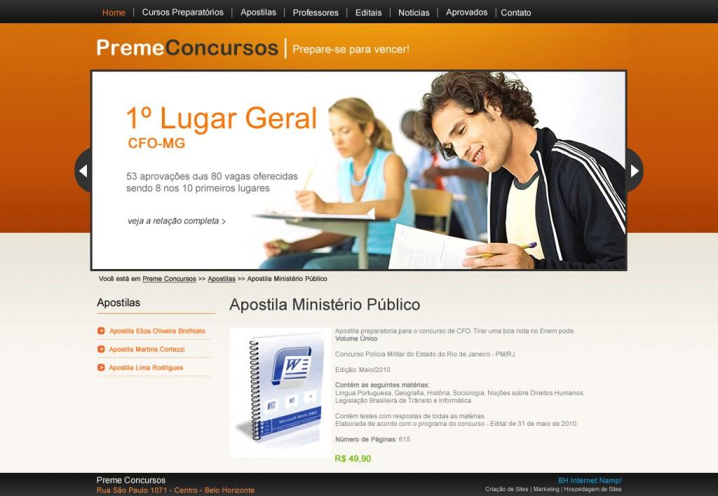 Imagem Portfólio Preme Concursos