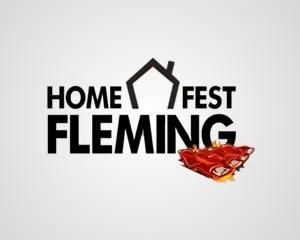 Logotipo Home Fest Fleming