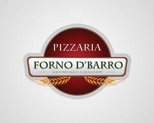 Logotipo Pizzaria Forno D' Barro