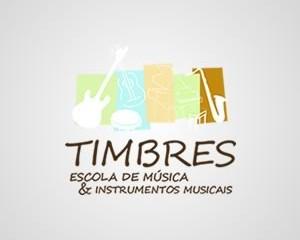 Logotipo Timbres Escola de Música