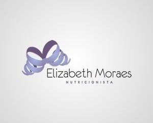 logomarca nutricionista elizabeth moraes
