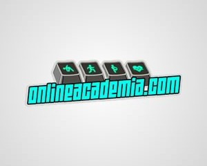 Logotipo Online Academia