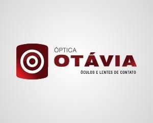 Logotipo Otávia optica