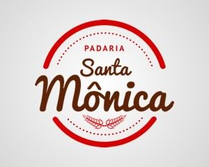 Logotipo Padaria Santa Mônica