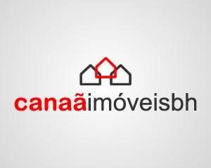 logotipo canaa imoveis bh