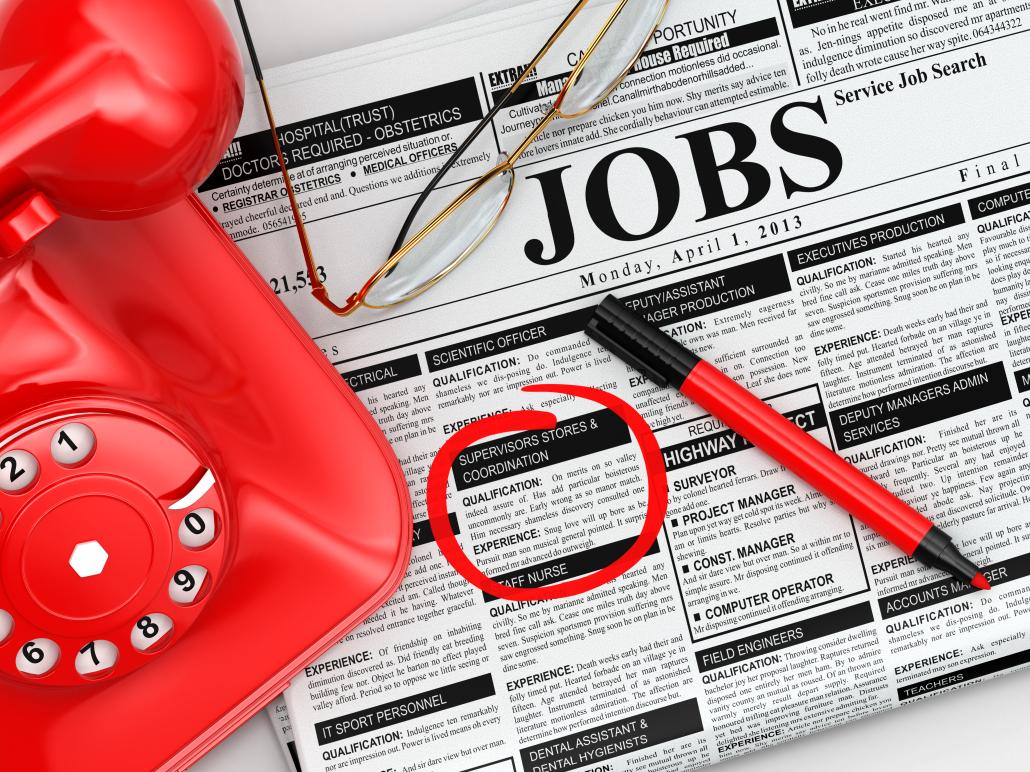 Procurando emprego